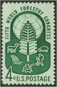 1156 4c World Forestry F-VF Mint NH 1156nh