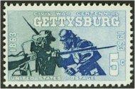 1180 5c Gettysburg (1963) F-VF Mint NH 1180nh