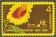 1183 4c Kansas F-VF Mint NH 1183nh