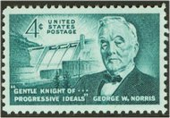 1184 4c George Norris F-VF Mint NH 1184nh