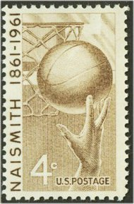 1189 4c Basketball F-VF Mint NH 1189nh