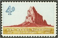 1191 4c New Mexico F-VF Mint NH Plate Block of 4 1191pb
