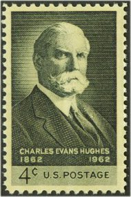 1195 4c Charles E. Hughes F-VF Mint NH Plate Block of 4 1195pb