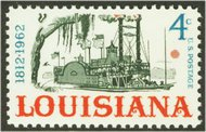 1197 4c Louisiana F-VF Mint NH Plate Block of 4 1197pb
