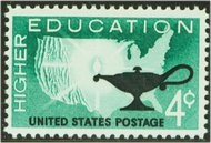 1206 4c Higher Education F-VF Mint NH Plate Block of 4 1206pb
