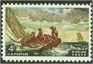 1207 4c Homer Seascape F-VF Mint NH Plate Block of 4 127pb