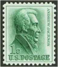 1209 1c Andrew Jackson F-VF Mint NH 1209nh