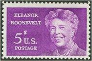 1236 5c Eleanor Roosevelt F-VF Mint NH 1236nh