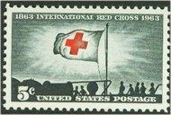 1239 5c Int'l Red Cross F-VF Mint NH 1239nh