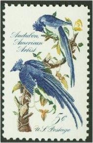 1241 5c Audubon Jays F-VF Mint NH 1241nh