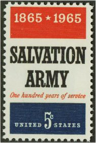 1267 5c Salvation Army F-VF Mint NH Plate Block of 4 1267pb