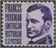 1281 3c Francis Parkman F-VF Mint NH Plate Block of 4 1281pb