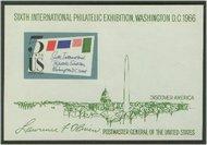 1311 5c Sipex Souvenir Sheet F-VF Mint NH 1311nh