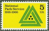 1314 5c National Park Service F-VF Mint NH 1314nh