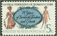1316 5c Women's Clubs F-VF Mint NH 1316nh