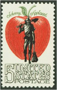1317 5c Johnny Appleseed F-VF Mint NH 1317nh