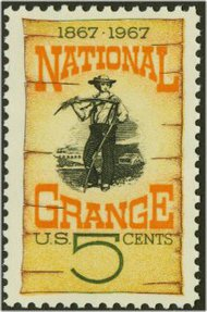 1323 5c National Grange F-VF Mint NH 1323nh