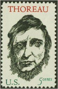 1327 5c Henry Thoreau F-VF Mint NH 1327nh