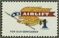 1341 $1 Flying Eagle F-VF Mint NH 1341nh