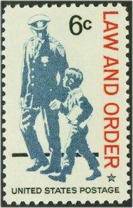 1343 6c Law & Order F-VF Mint NH 1343nh
