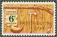 1357 6c Daniel Boone F-VF Mint NH 1357nh