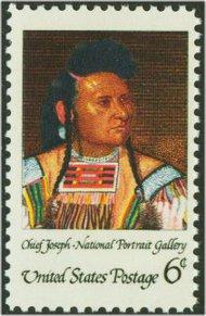 1364 6c American Indian F-VF Mint NH 1364nh