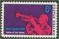 1372 6c W. C. Handy F-VF Mint NH 1372nh
