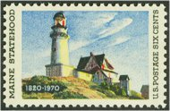 1391 6c Maine F-VF Mint NH 1391nh