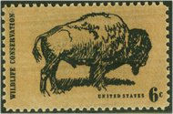 1392 6c Buffalo F-VF Mint NH 1392nh