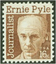 1398 16c Ernie Pyle F-VF Mint NH Plate Block of 4 1398pb
