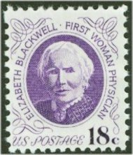 1399 18c Elizabeth Blackwell F-VF Mint NH 1399nh
