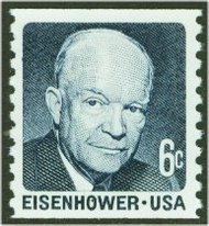 1401 6c Eisenhower Coil F-VF Mint NH 1401nh