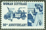 1406 6c Women's Suffrage F-VF Mint NH 1406nh