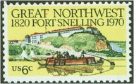 1409 6c Fort Snelling F-VF Mint NH 1409nh