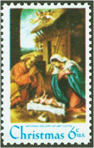1414 6c Christmas F-VF Mint NH 1414nh