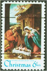 1414a 6c Christmas, Precancelled F-VF Mint NH 1414anh