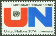 1419 6c United Nations F-VF Mint NH 1419nh