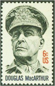 1424 6c General MacArthur F-VF Mint NH 1424nh