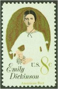 1436 8c Emily Dickinson F-VF Mint NH 1436nh