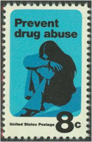 1438 8c Drug Abuse F-VF Mint NH 1438nh
