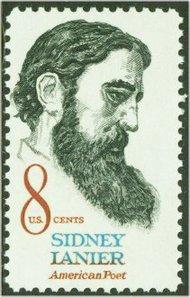 1446 8c Sidney Lanier F-VF Mint NH 1446nh