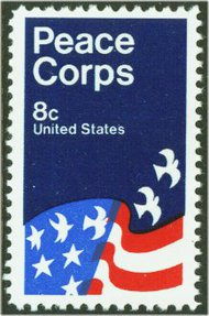 1447 8c Peace Corps F-VF Mint NH 1447NH
