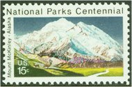 1454 15c Mount McKinley F-VF Mint NH Plate Block of 4 1454pb