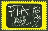 1463 8c Parent Teachers F-VF Mint NH 1463nh