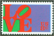 1475 8c Love F-VF Mint NH 1475nh