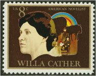 1487 8c Willa Cather Used 1487used