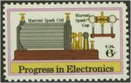 1500 6c Electronics-Marconi F-VF Mint NH Plate Block of 4 1500pb