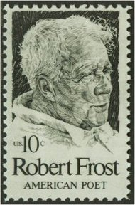 1526 10c Robert Frost F-VF Mint NH 1526nh