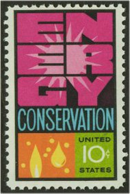 1547 10c Energy Conservation F-VF Mint NH 1547nh