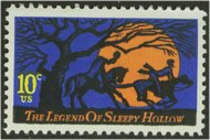 1548 10c Sleepy Hollow F-VF Mint NH 1548nh